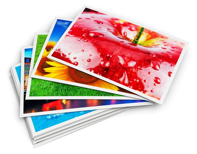 Tirages photo sur papier